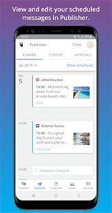 App Hootsuite: Schedule Posts for Twitter & Instagram APK for Windows Phone