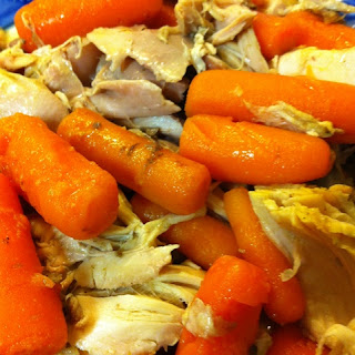Super Simple Slow Cooker Thai Chicken and Carrots