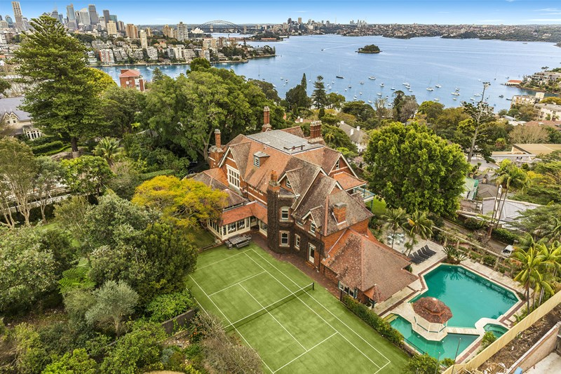 "Leura, Bellevue Hill  is ""a monument to the Federation Queen Anne style of architecture"""
