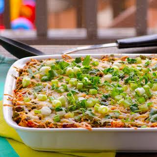Chili Chicken, Kale & Quinoa Casserole.