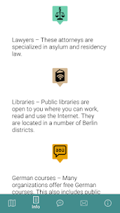 Arriving in Berlin App- screenshot thumbnail