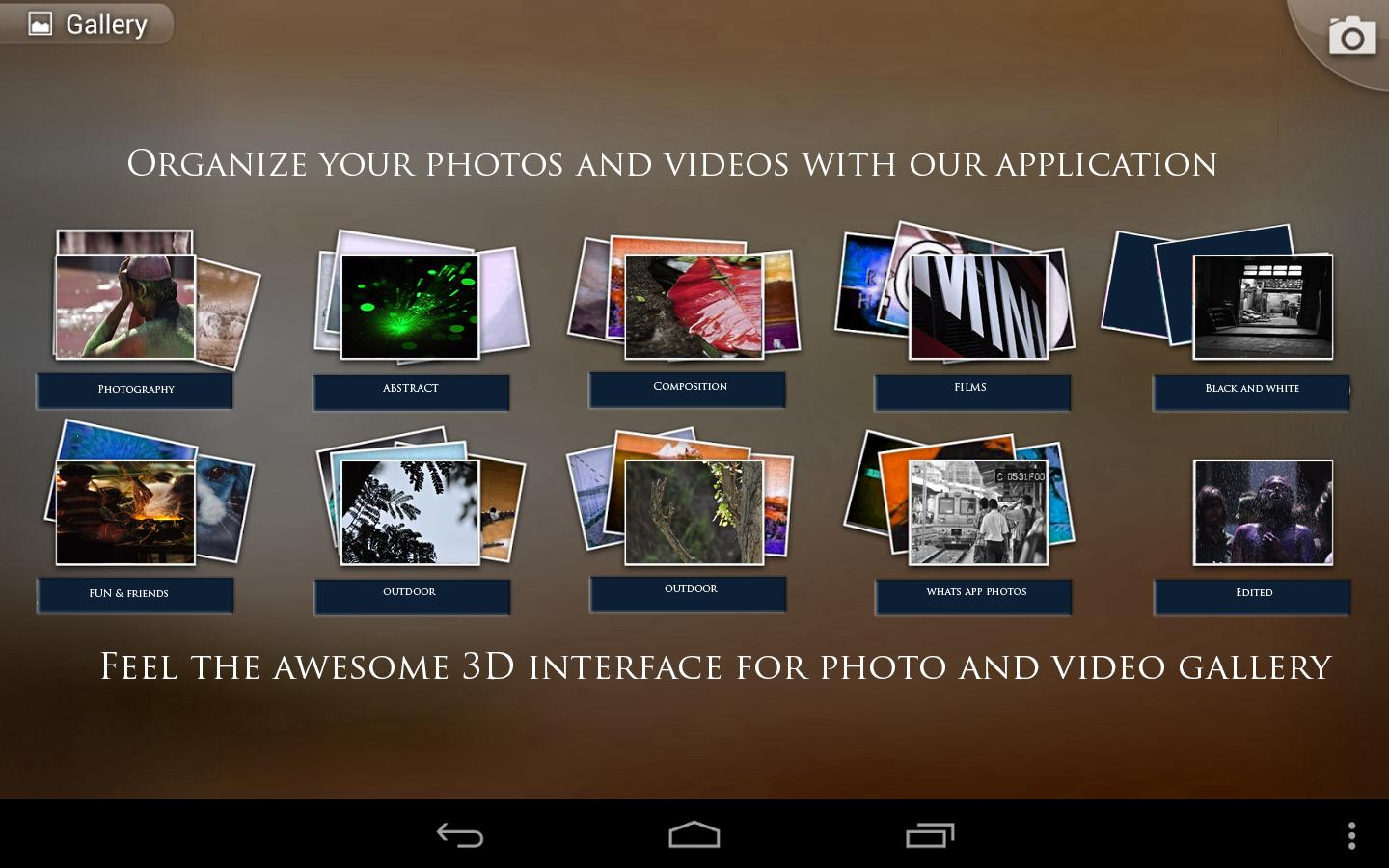 Quick photo gallery 3d hd android apps on google play 3d application