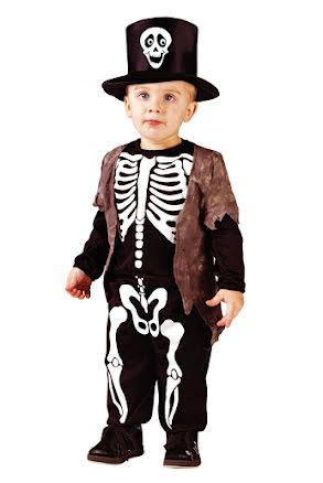 Barndräkt, Happy skeleton
