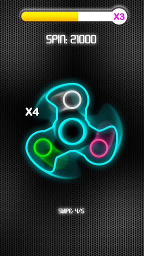 Fidget Spinner Neon screenshot 1