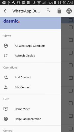 Duplicates for WhatsApp 1.41 screenshots 6