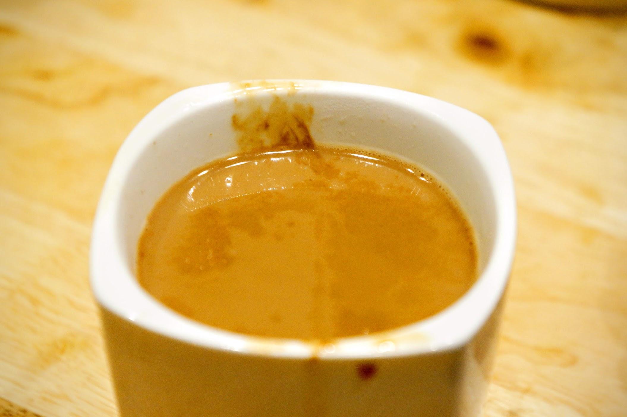 有機黑糖鮮奶茶,在這三杯奶茶當中這杯偏甜但也是最好喝的