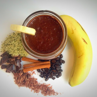 CHOCOLATE BANANA MORNING BUZZ SMOOTHIE
