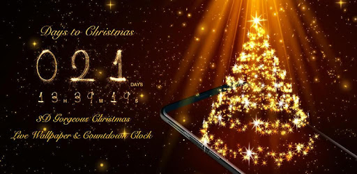 3d Christmas Live Wallpaper Countdown Widget Free Apps Bei Google Play