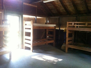 Photo: Inside one of the cabins.