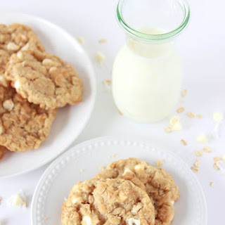 White Chocolate Chip Coconut Oatmeal Cookies