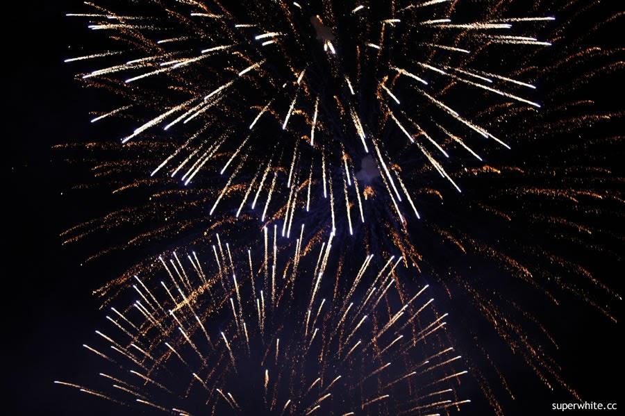 Merlion Park Fireworks