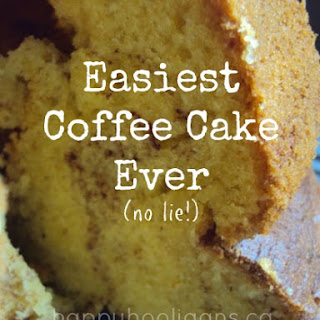 Quick and Easy Coffee Cake Recipe for Last Minute Entertaining