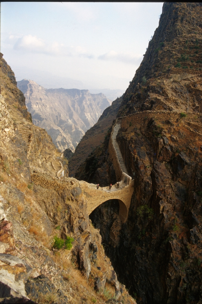 Ponte di Shahara Yemen di paolo.balbarini