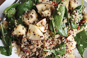 Apple Citrus Quinoa Salad