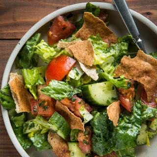 Mediterranean Fattoush Salad