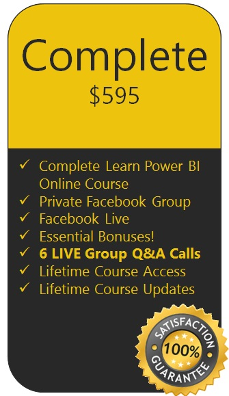 Learn Power BI Complete Edition