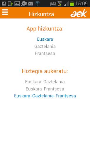 AEK, EUSKARA PRAKTIKOA|玩教育App免費|玩APPs