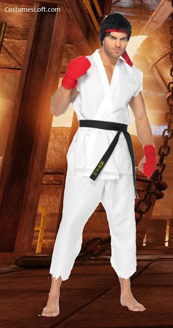 unique Street Fighter Ryu Costume