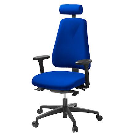 Stol Lanab 6340 komplett   blå