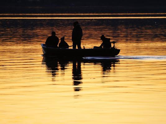 Al tramonto...sul lago di Boboparra