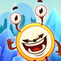 Alarmy & Monsters: physics puzzle game icon