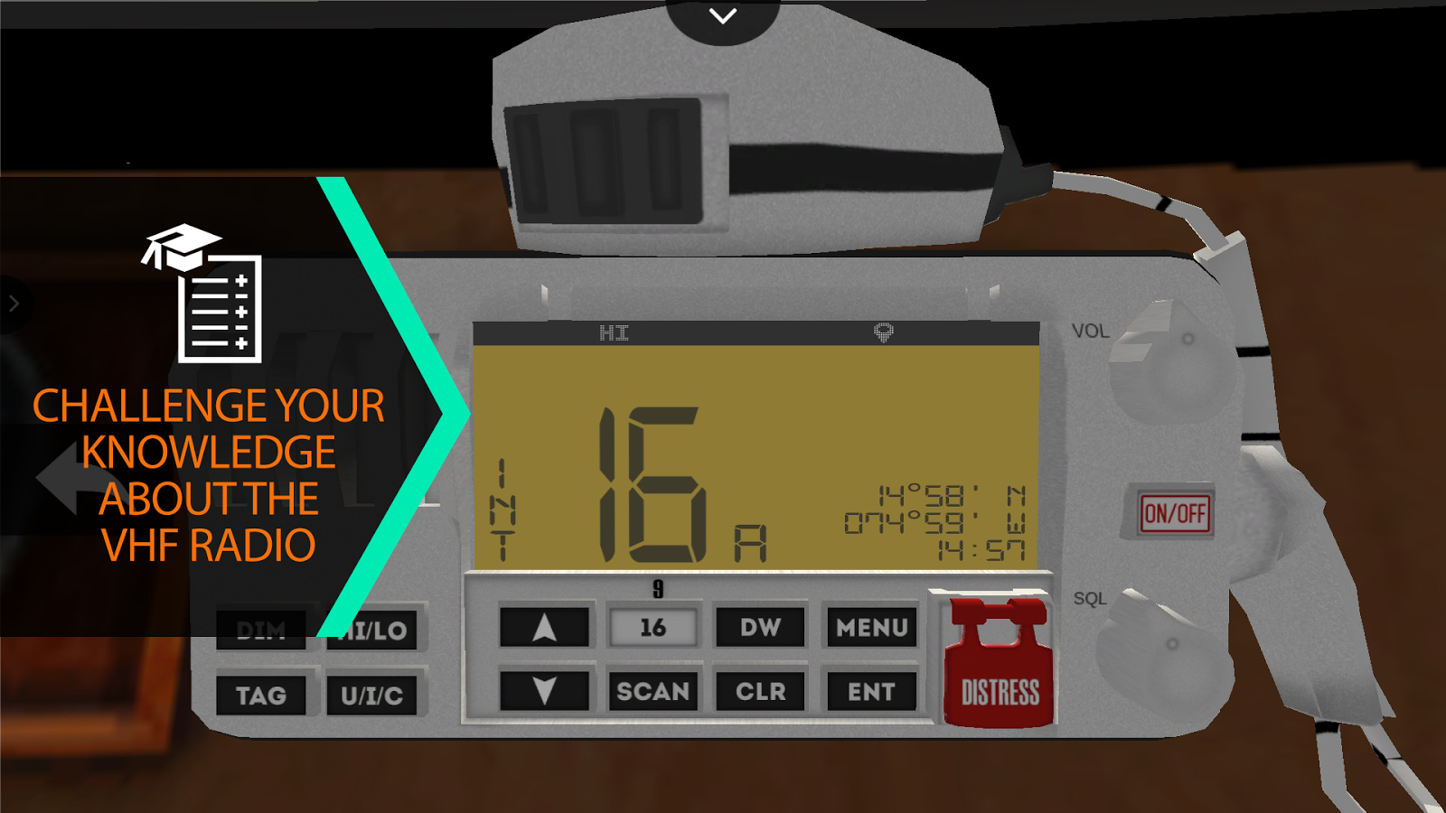 VHF Trainer- screenshot
