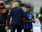Emmanuel Dennis était blessé pour le déplacement de Bruges à Zulte Waregem