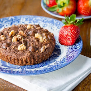 Healthy Chocolate Muffins.