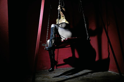 party swinger bondage ass hook