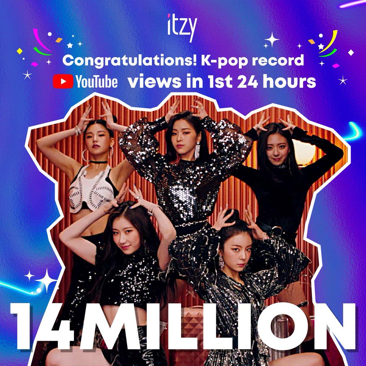 itzy 24 hour debut mv