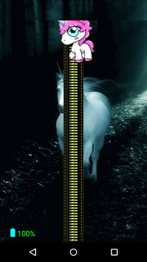 Unicorn Zipper Screen Lock