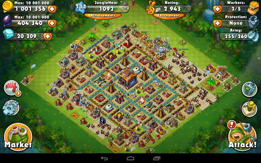 Jungle Heat: War of Clans screenshot 18