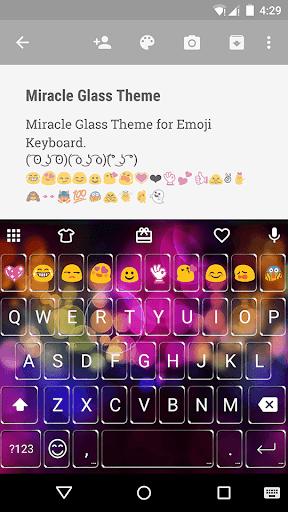 Miracle Glass Emoji Keyboard