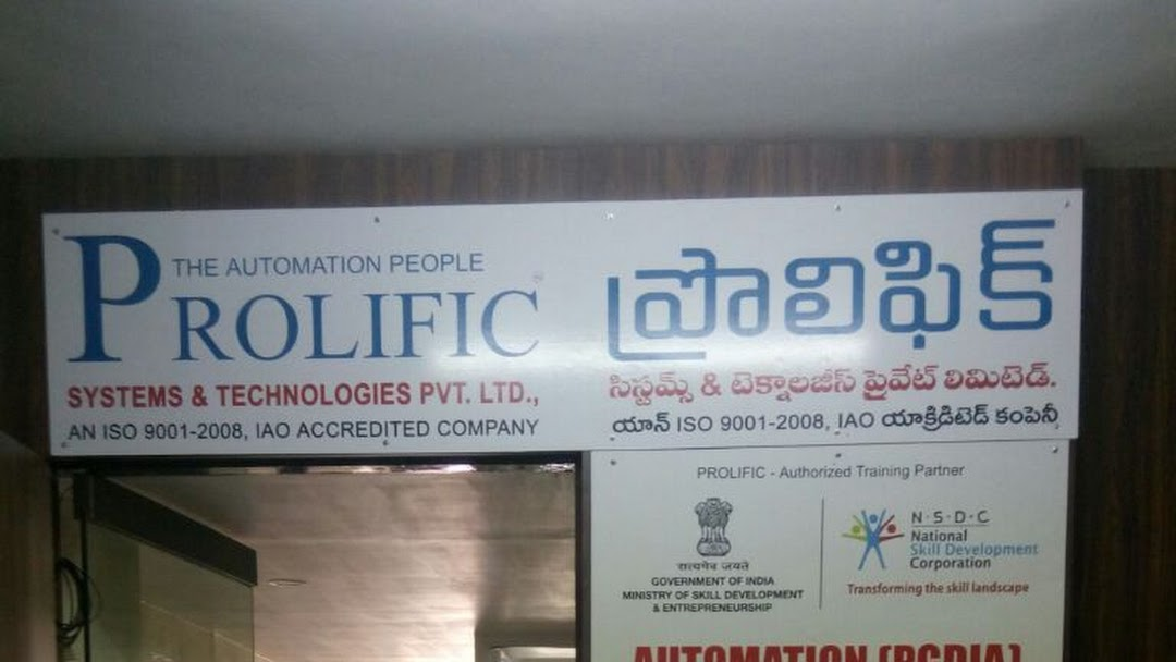 Prolific Plc Automation Embedded Systems Training Institute In Hyderabad Training Centre In Hyderabad