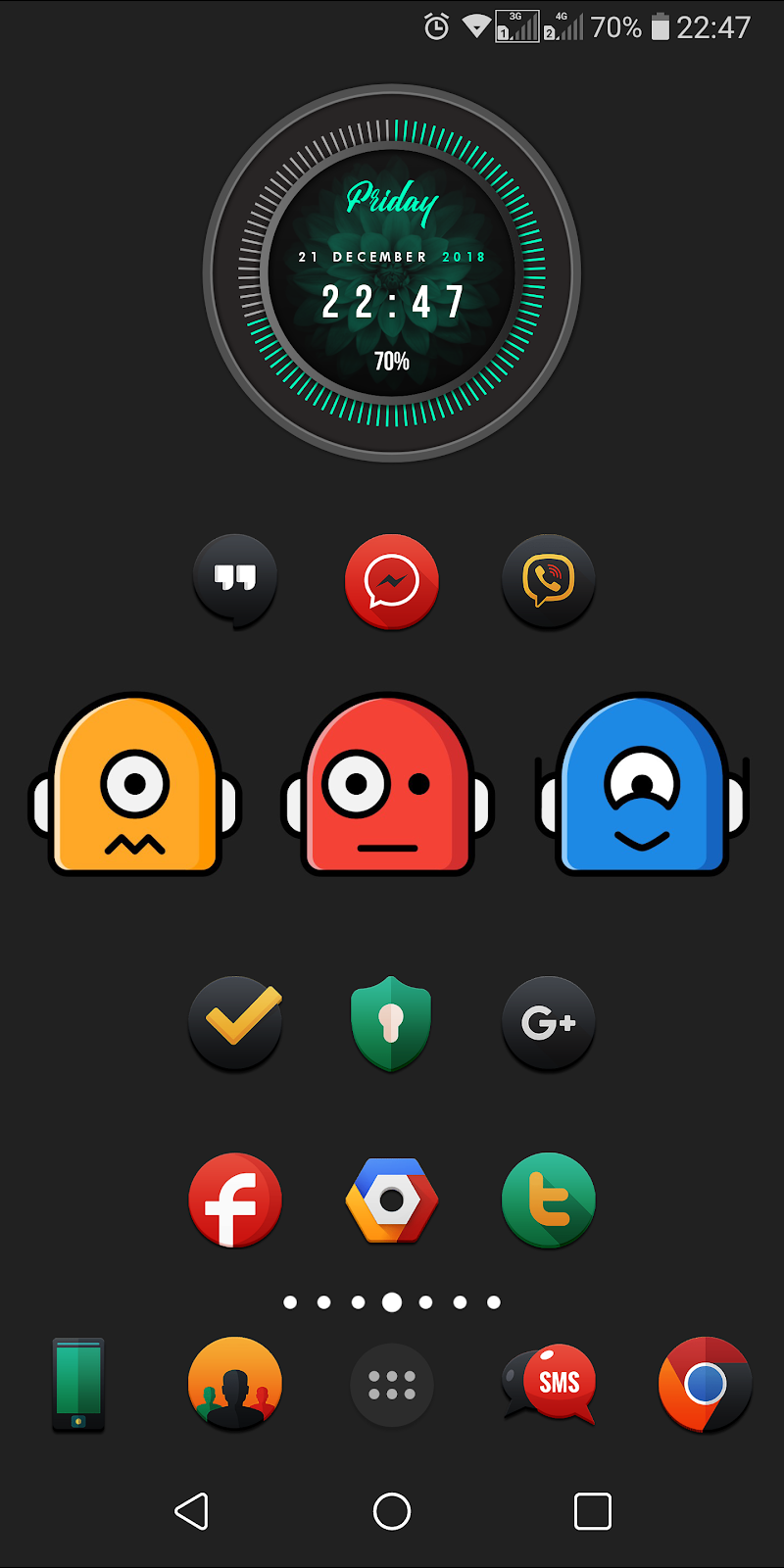 Darkonis - Icon Pack Screenshot 2