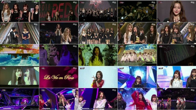 181214 (720p+1080i) IZONE Part – 2018 MAMA in HongKong
