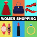Women Fashion Online shopping icon