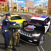 Real Police Car Chase - Hot Crime Patrol Team Sim