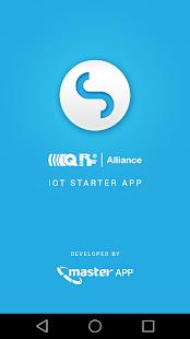IoT Starter App - náhled