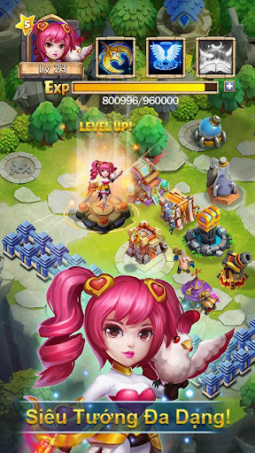 Castle Clash: Quyu1ebft Chiu1ebfn - Gamota  screenshots 2