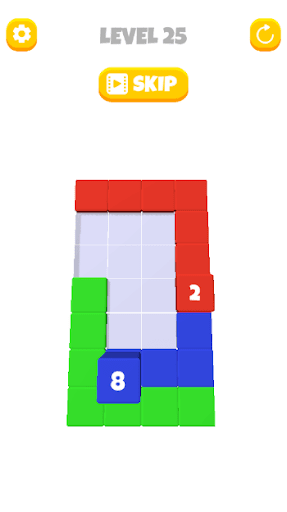 Stack Blocks - Stacking Cube 3D android2mod screenshots 2