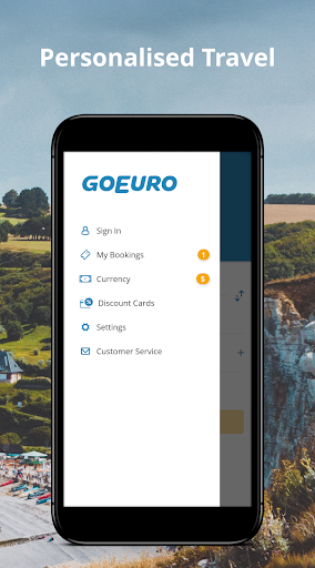 GoEuro: trains, buses, flights  screenshots 5