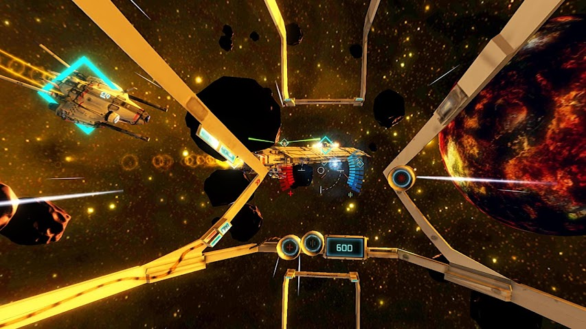android End Space VR for Cardboard Screenshot 0