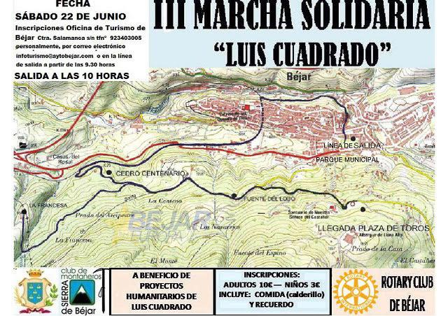 Cartel de la Ruta Solidaria