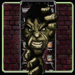 Green Angry Hero Theme