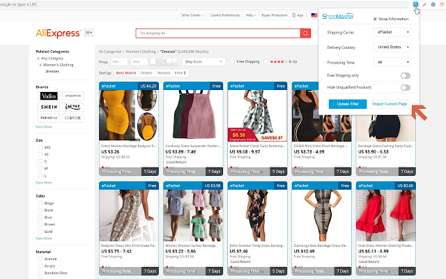 ShopMaster - Dropshipping Product Importer