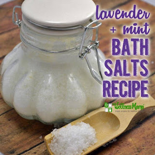Lavender Mint Bath Salts.