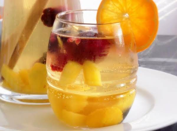 White Wine Sangria With Pineapple Juice Recipe