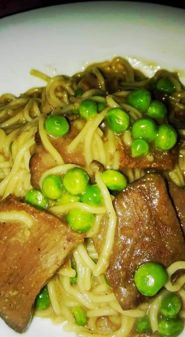 10 Minute Roast Beef And Pasta! Recipe