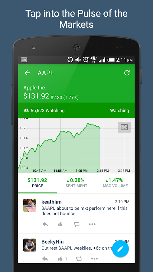StockTwits - Stock Market Chat - screenshot